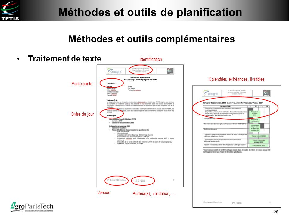 M thodes et outils de planification ppt video online - Telecharger traitement de texte open office ...