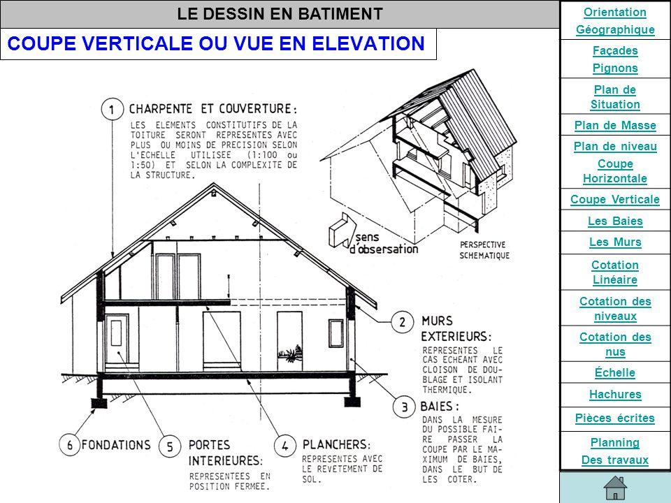Elevation Plan Coupe : Etudes des constructions ppt video online télécharger