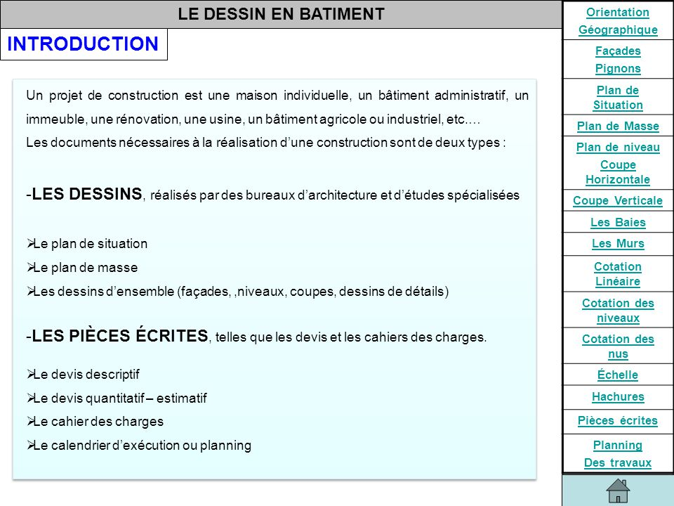 Le Planning De Travaux  Construire Sa Maison Planning Travaux