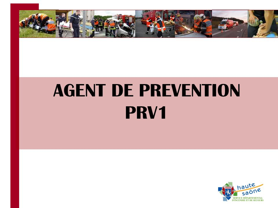 AGENT DE PREVENTION PRV1