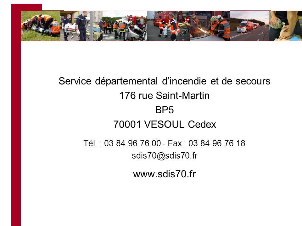Service départemental d'incendie et de secours