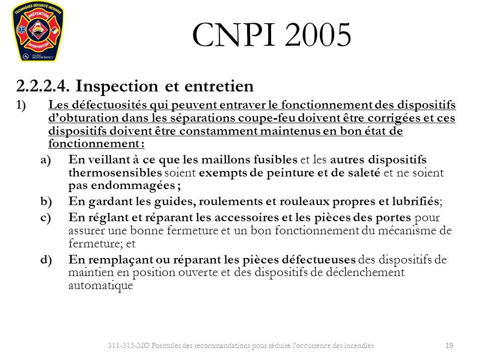 Cnpi 2005 r sum des exigences de la partie 2 ppt t l charger - Entretien et coupe des hortensias ...