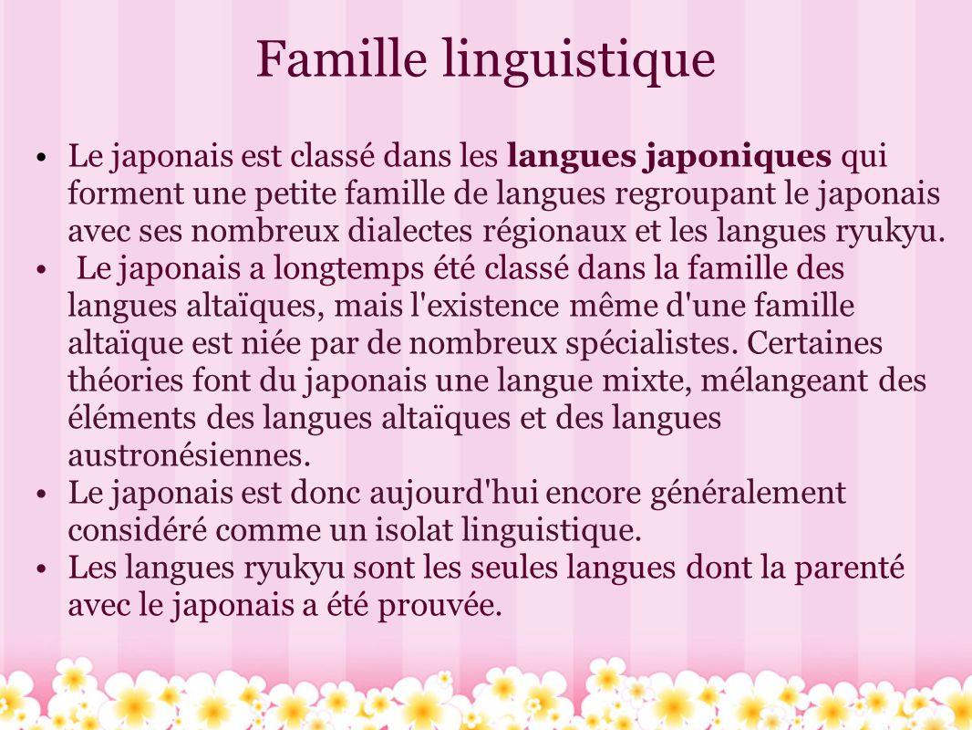 Extrêmement La langue japonaise 日本語. - ppt video online télécharger NF26