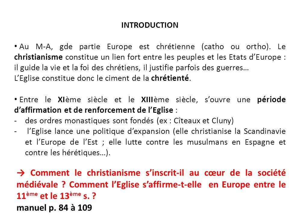 La societe medievale de XIeme au XIIIeme siecle. 2nde Histoire