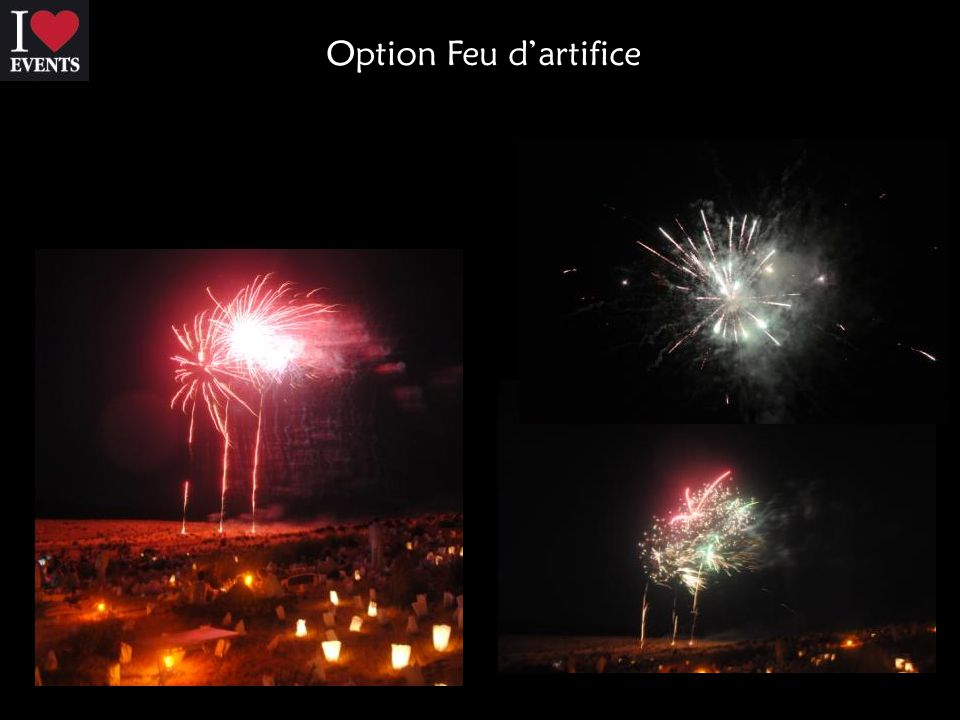 Option Feu d'artifice