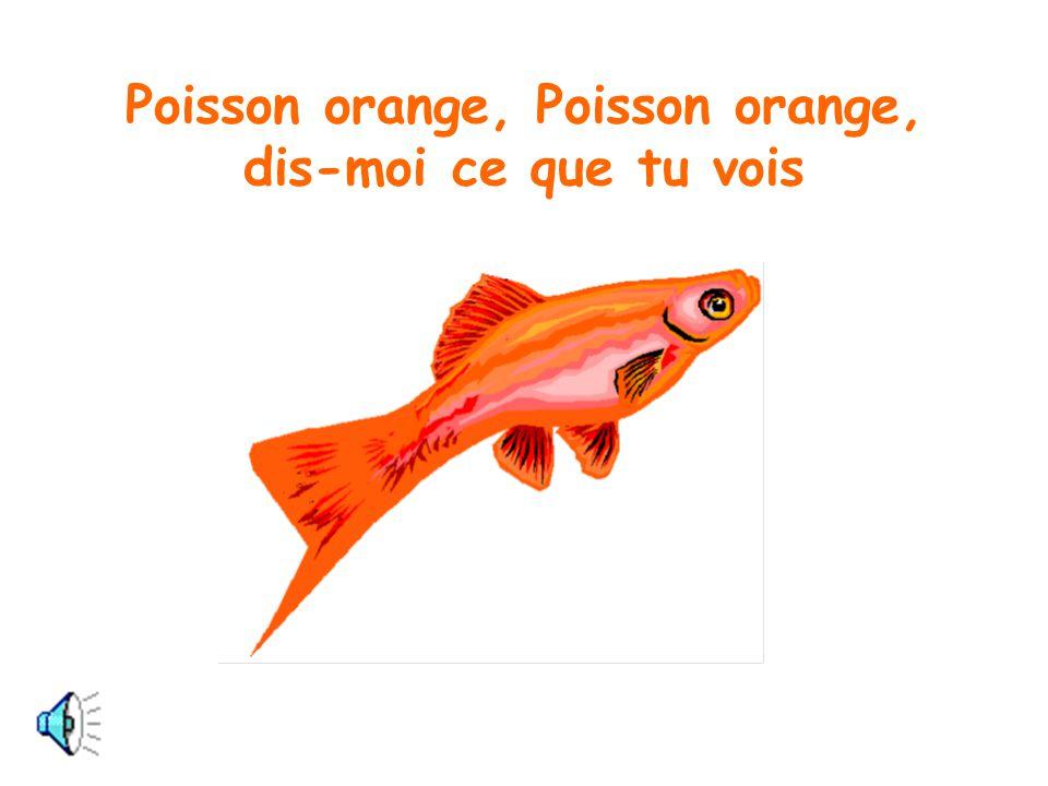 Poisson orange, Poisson orange, dis-moi ce que tu vois