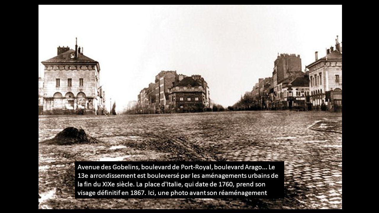 La transformation de paris avant et apr s le baron haussmann ppt video online t l charger - Boulevard du port royal paris ...