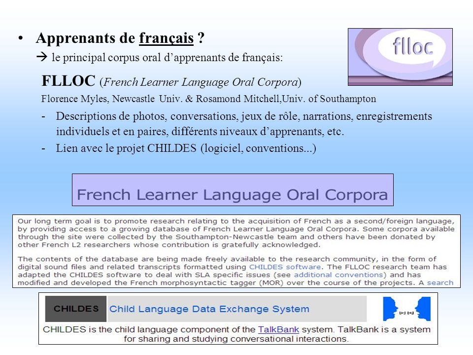 FLLOC (French Learner Language Oral Corpora)