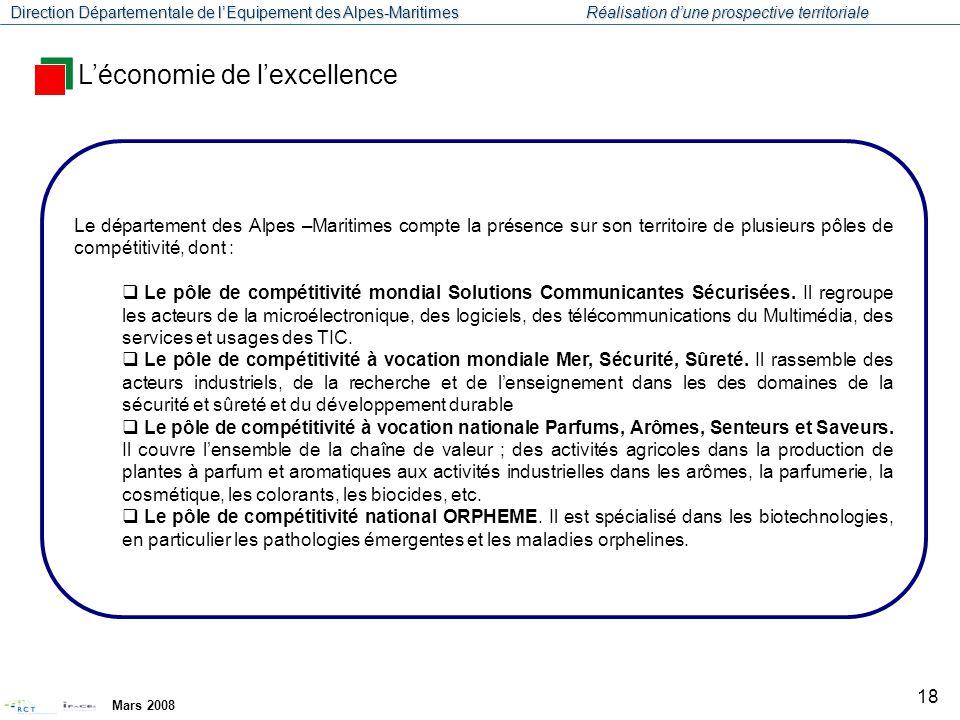 L'économie de l'excellence
