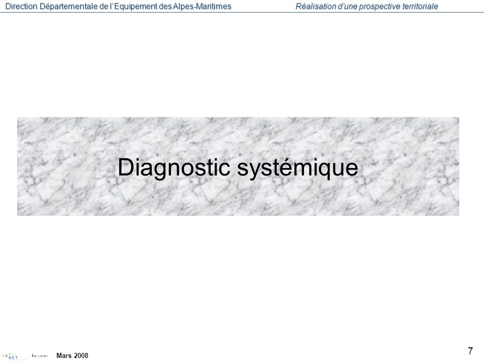 Diagnostic systémique