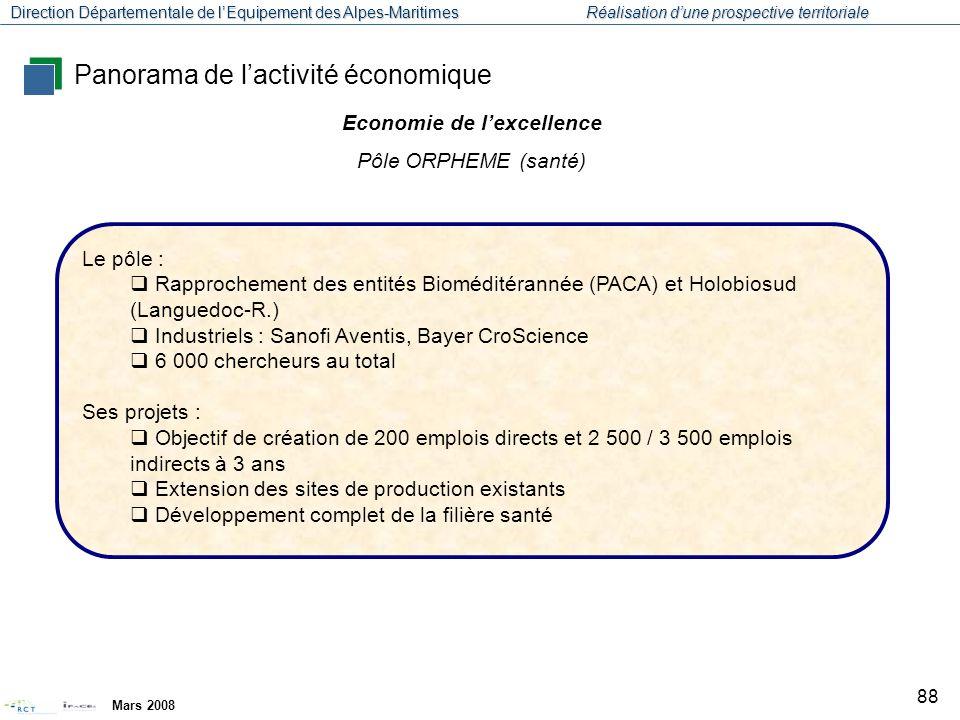 Economie de l'excellence