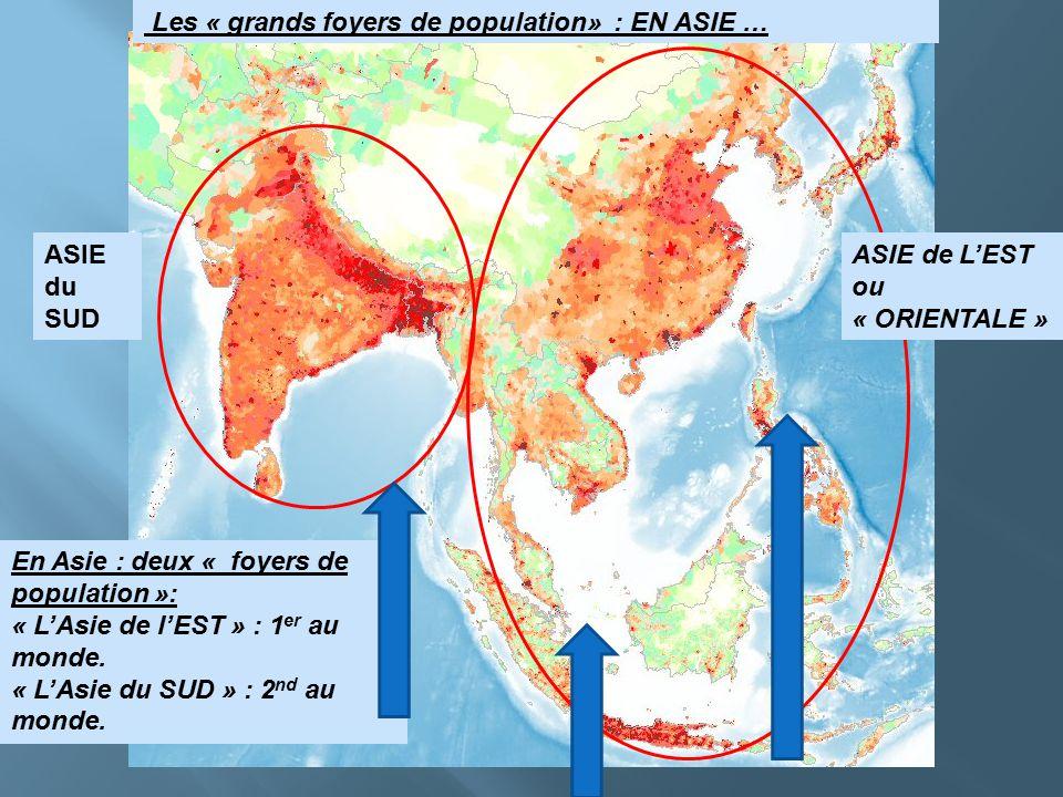 Grand Foyer De Population : Séquence de géographie «où sont les hommes sur la