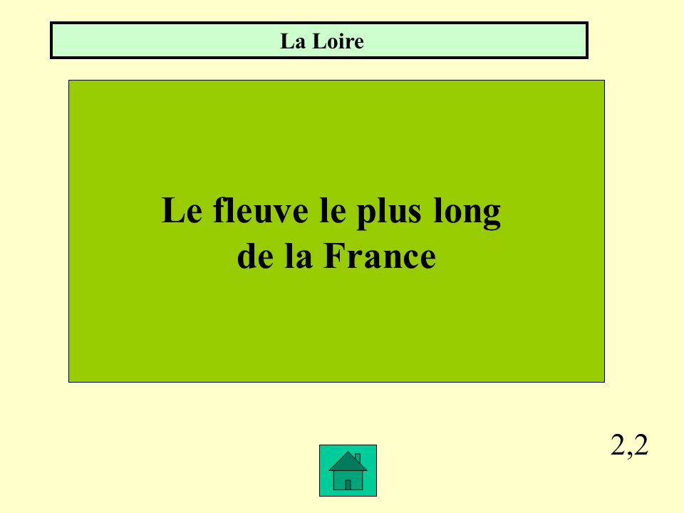 Le fleuve le plus long de la France