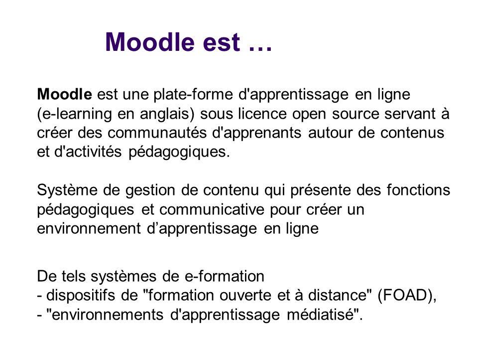 pr233sentation de moodle ppt video online t233l233charger