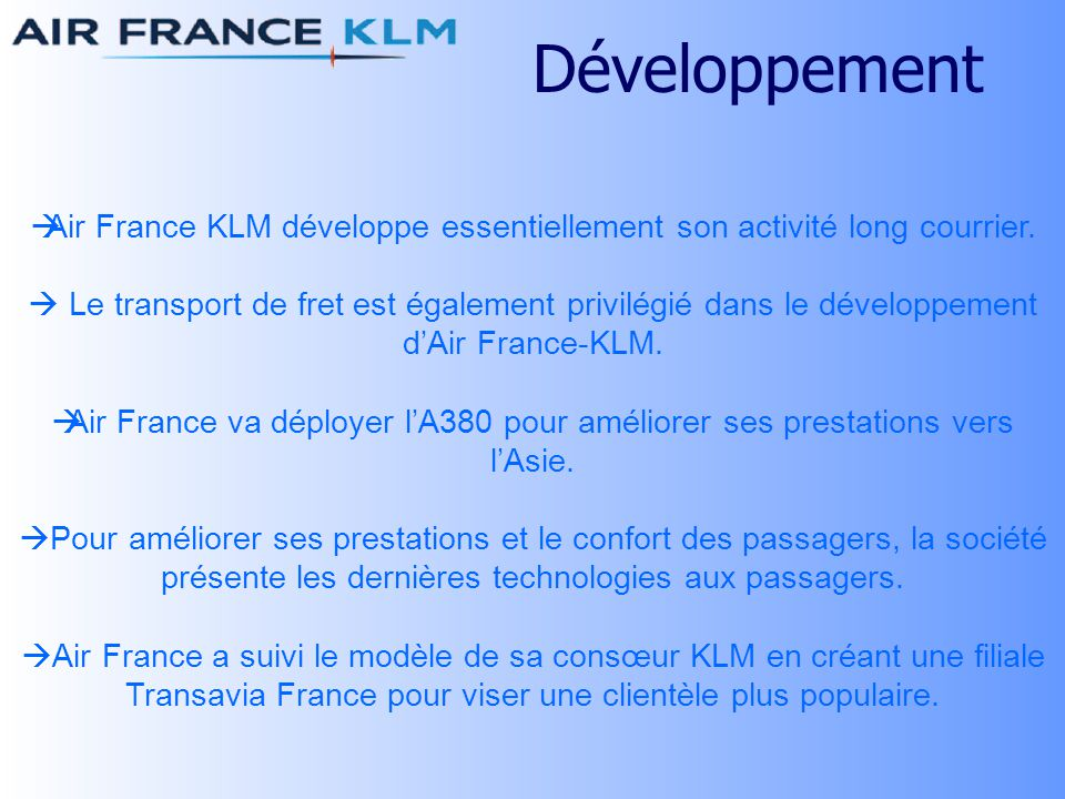 Le groupe air france klm ppt t l charger for Suivi de courrier temporaire