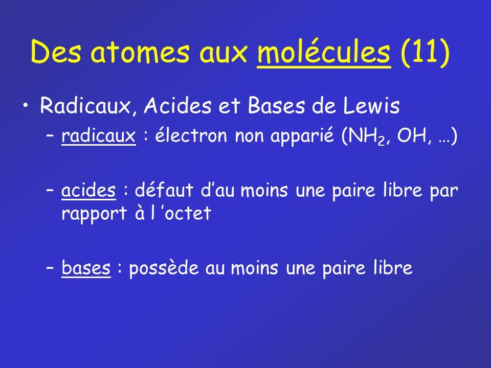 Des atomes aux molécules (11)