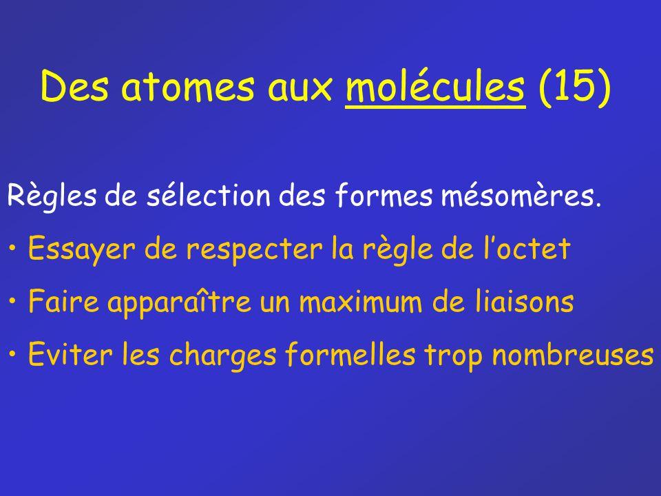 Des atomes aux molécules (15)
