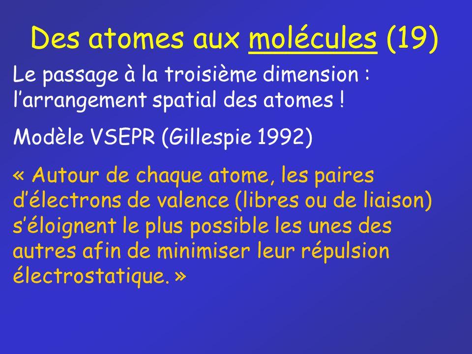 Des atomes aux molécules (19)
