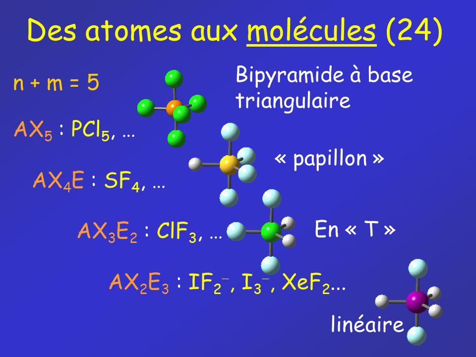 Des atomes aux molécules (24)
