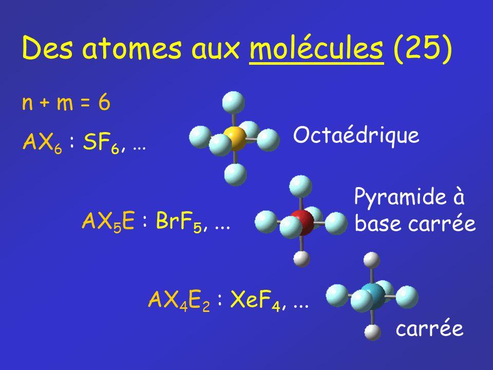 Des atomes aux molécules (25)