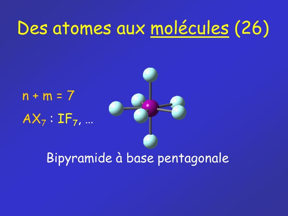 Des atomes aux molécules (26)