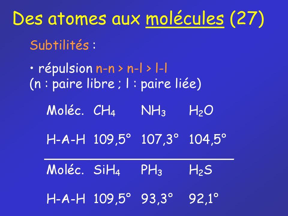 Des atomes aux molécules (27)