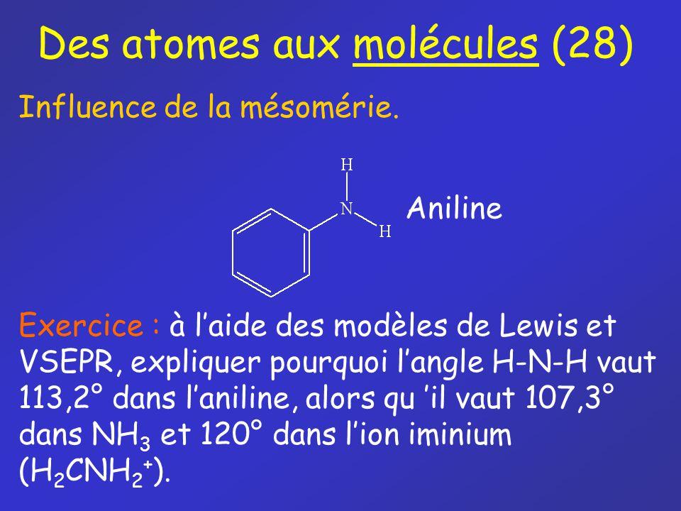 Des atomes aux molécules (28)