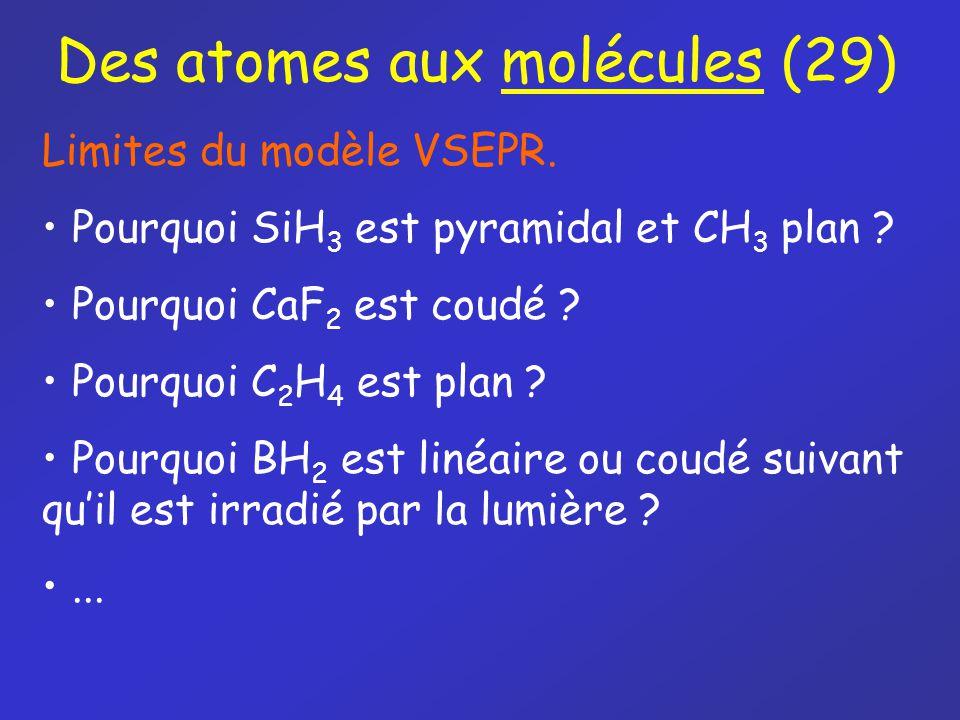 Des atomes aux molécules (29)