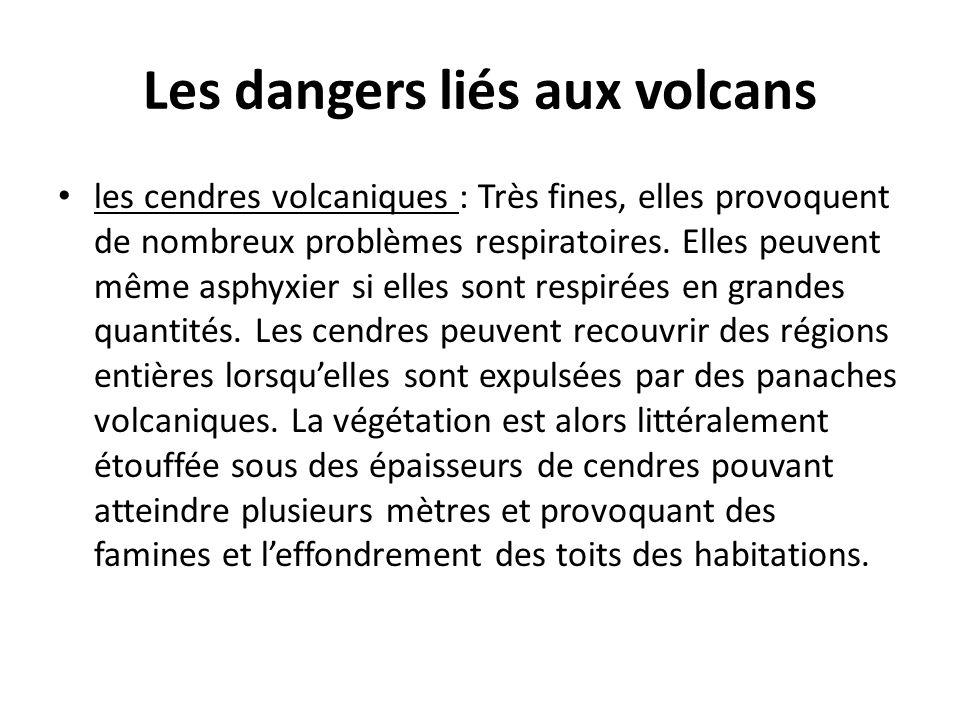 Les dangers liés aux volcans