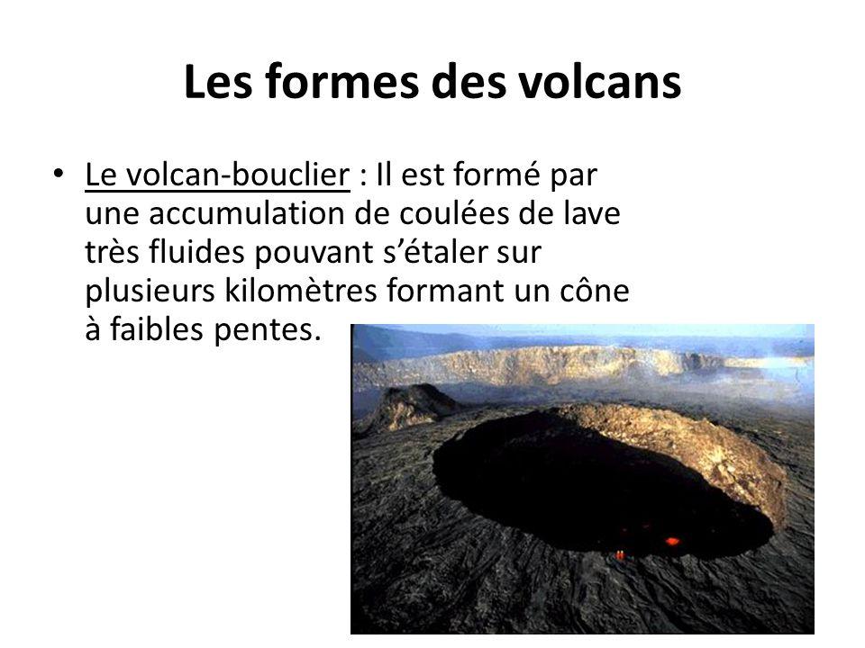 Les formes des volcans