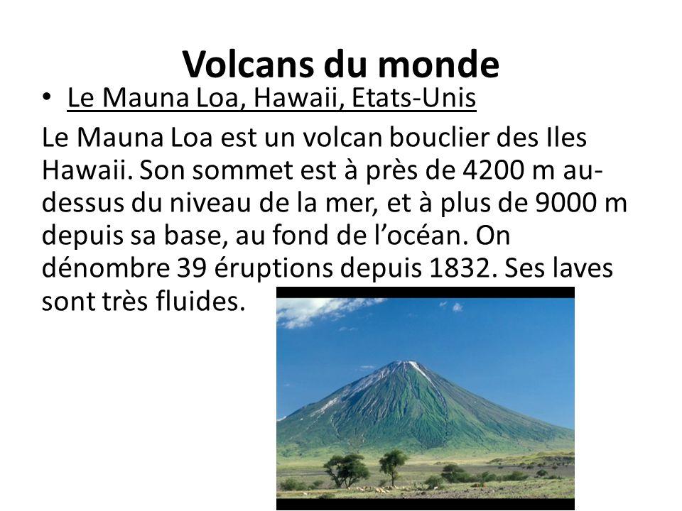 Volcans du monde Le Mauna Loa, Hawaii, Etats-Unis