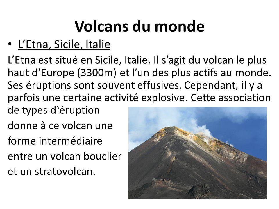 Volcans du monde L'Etna, Sicile, Italie