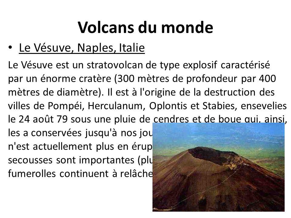 Volcans du monde Le Vésuve, Naples, Italie