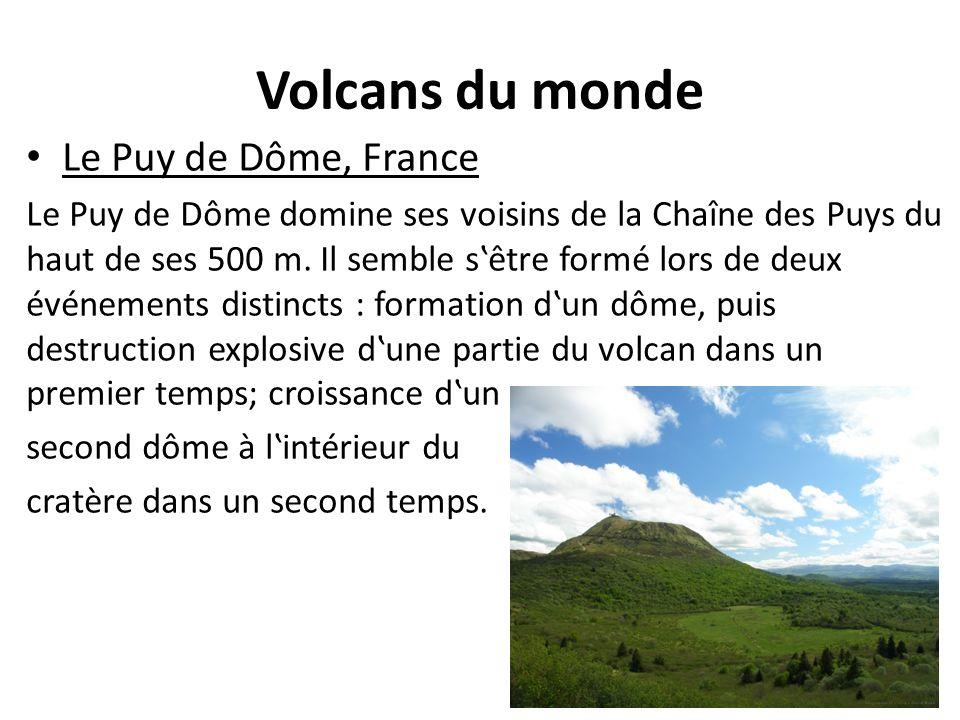 Volcans du monde Le Puy de Dôme, France