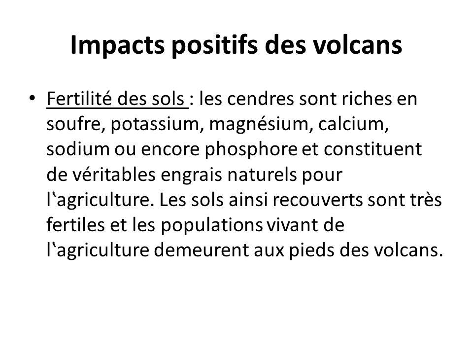 Impacts positifs des volcans