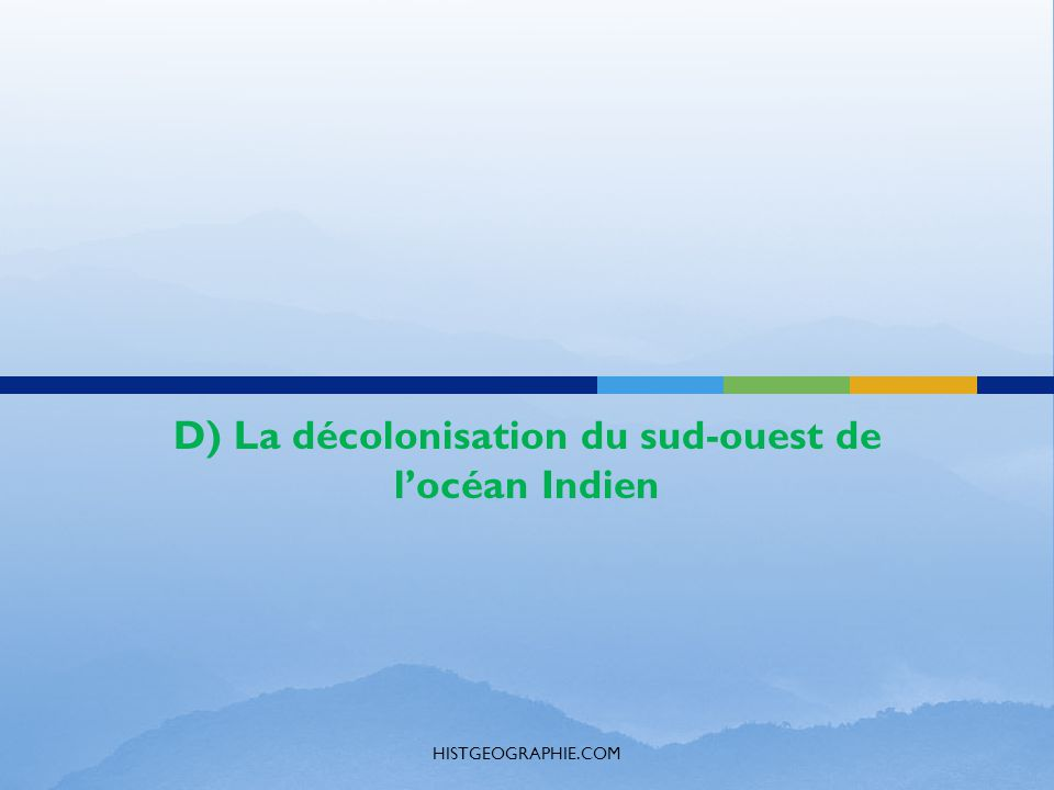 decolonization of algeria and mozambique During the 1950s kenya and algeria, with british and french settlers  fought  african nationalist insurgencies in angola, mozambique, and  a general  overview of africa's decolonization including wars of independence.
