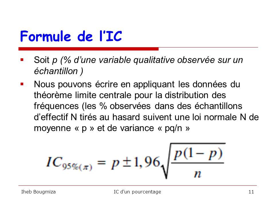 Facult de m decine de sousse module biostatistiques - Comment lire la table de la loi normale ...