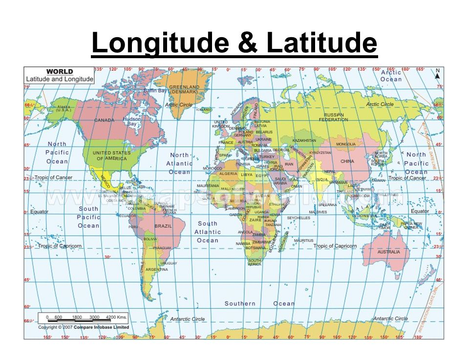 Longitude & Latitude