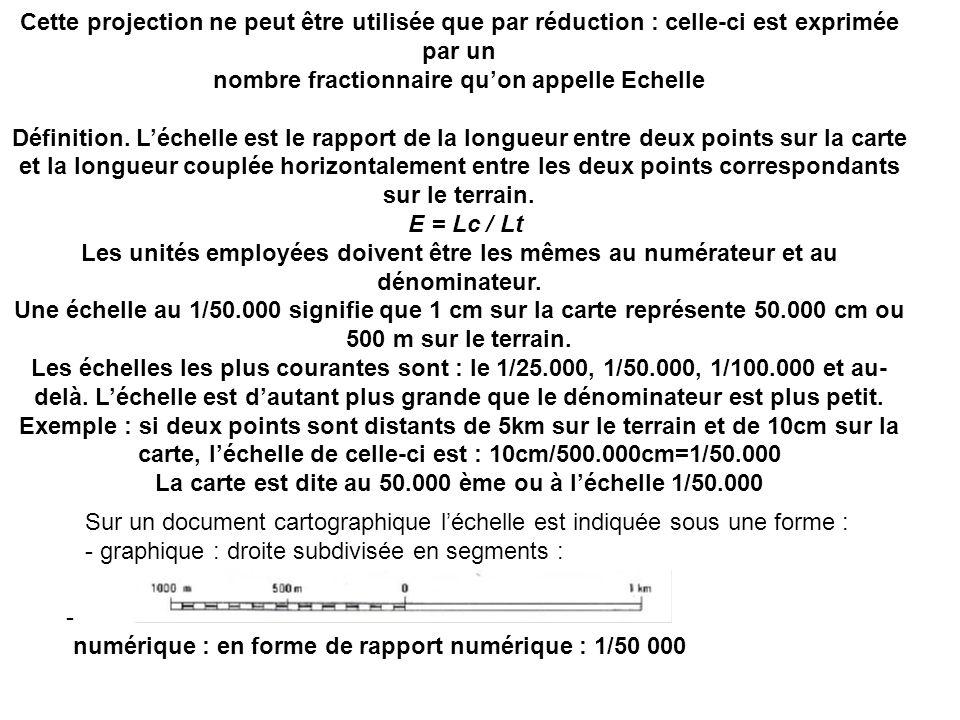 nombre fractionnaire qu'on appelle Echelle
