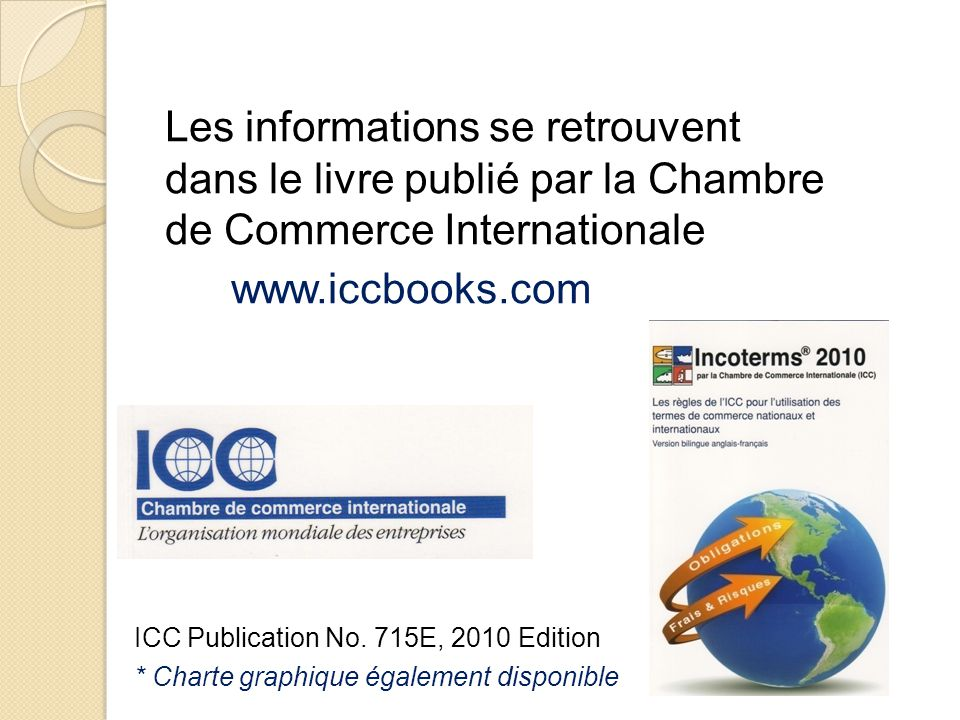 Logistique et transport international ppt video online for Chambre commerce international