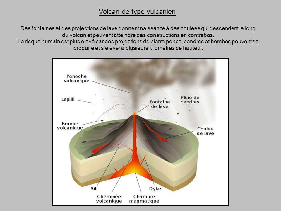 Volcan de type vulcanien