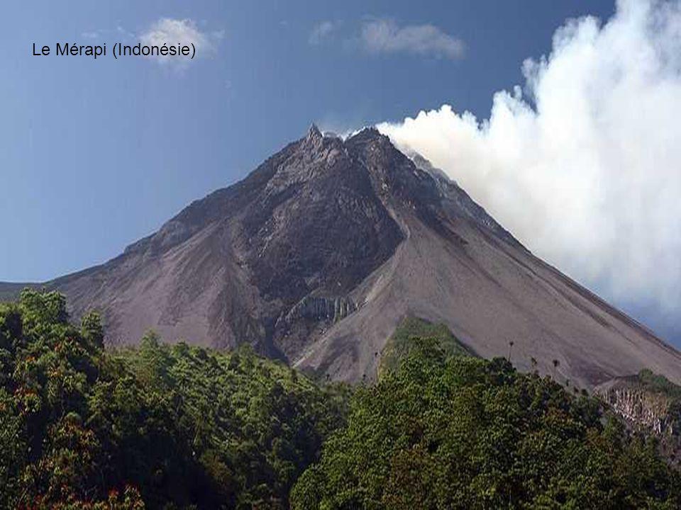 Le Mérapi (Indonésie)