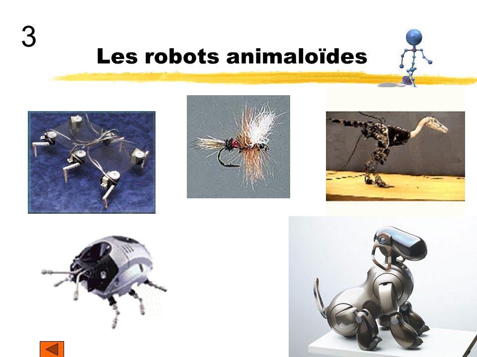Les robots animaloïdes