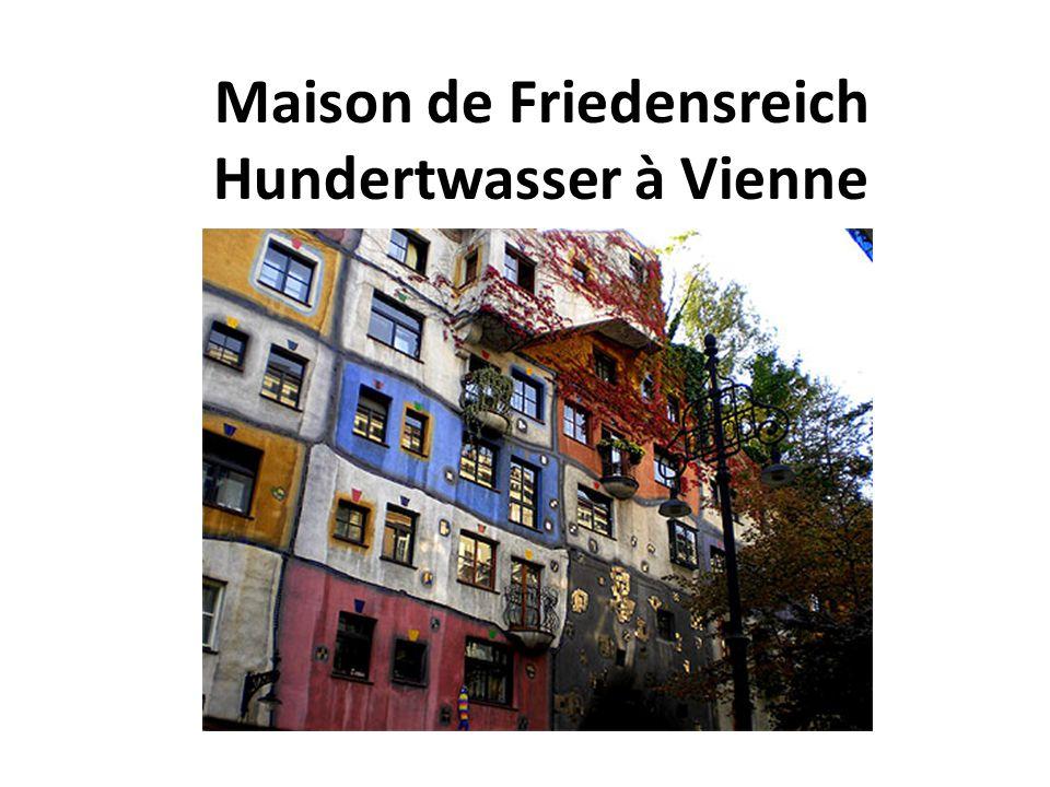 Hervorragend Maison de Friedensreich Hundertwasser à Vienne - ppt video online  XZ45
