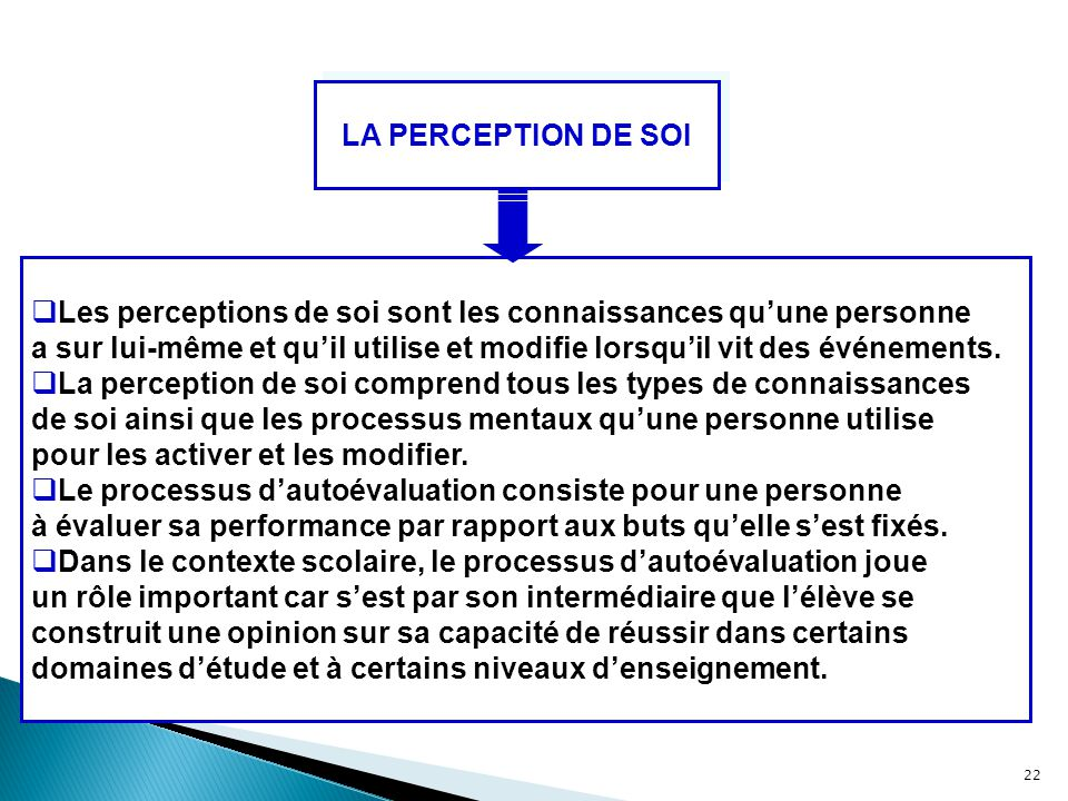 Pratiques enseignantes ppt t l charger for Haute opinion de soi