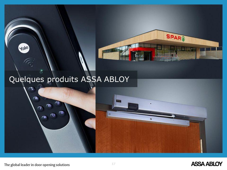 assa abloy est le leader mondial des solutions d ouverture. Black Bedroom Furniture Sets. Home Design Ideas