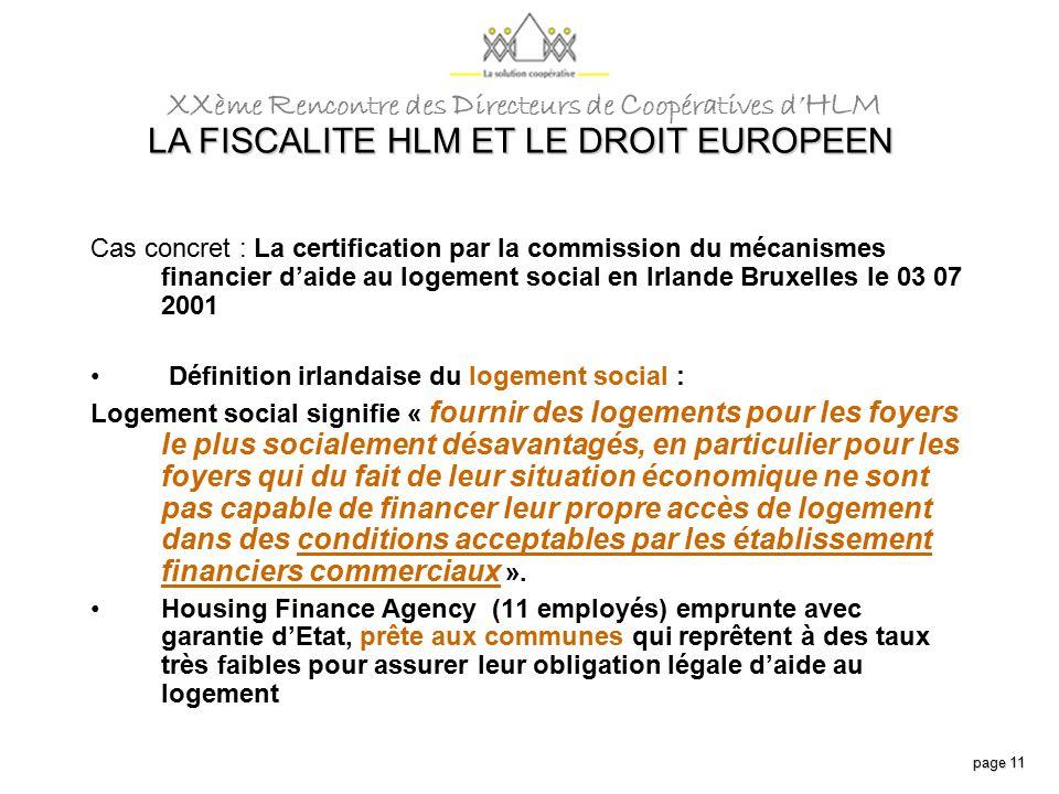 La fiscalite hlm et le droit europeen ppt t l charger - Plus logement definition ...