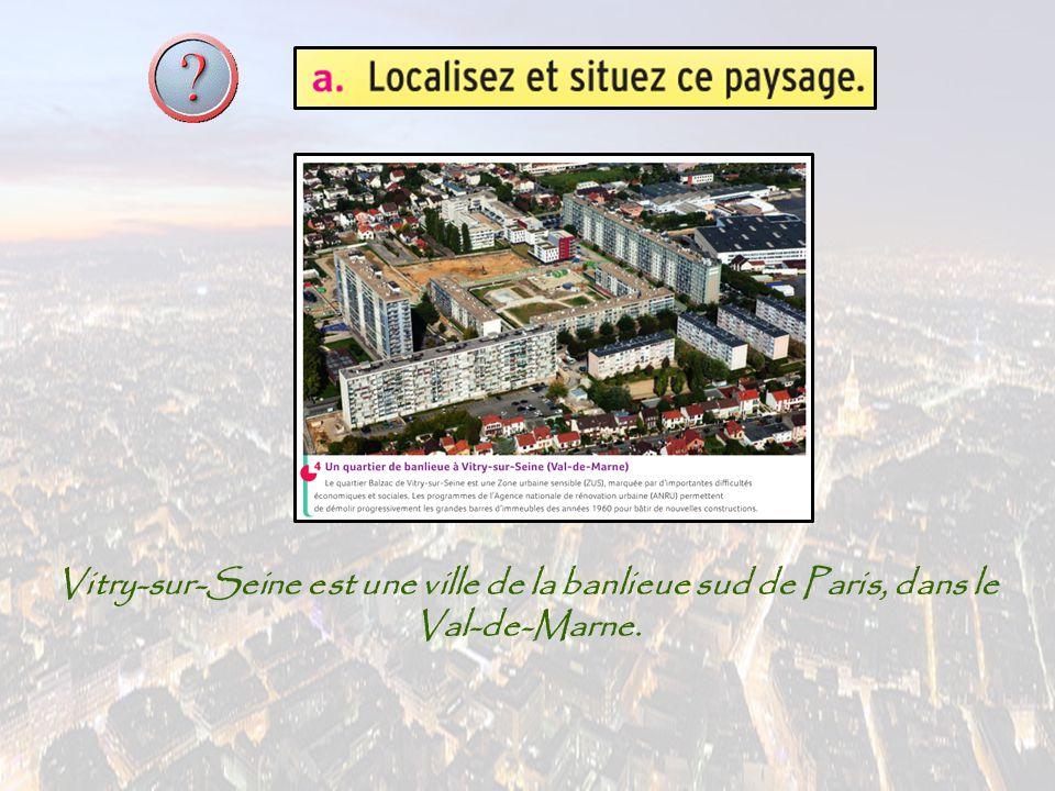 Vitry-sur-Seine est une ville de la banlieue sud de Paris, dans le