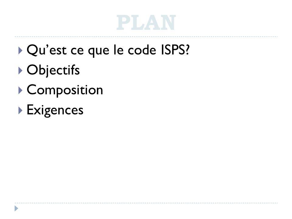 Plan qu est ce que le code isps objectifs composition exigences ppt t l c - Qu est ce que le sisal ...
