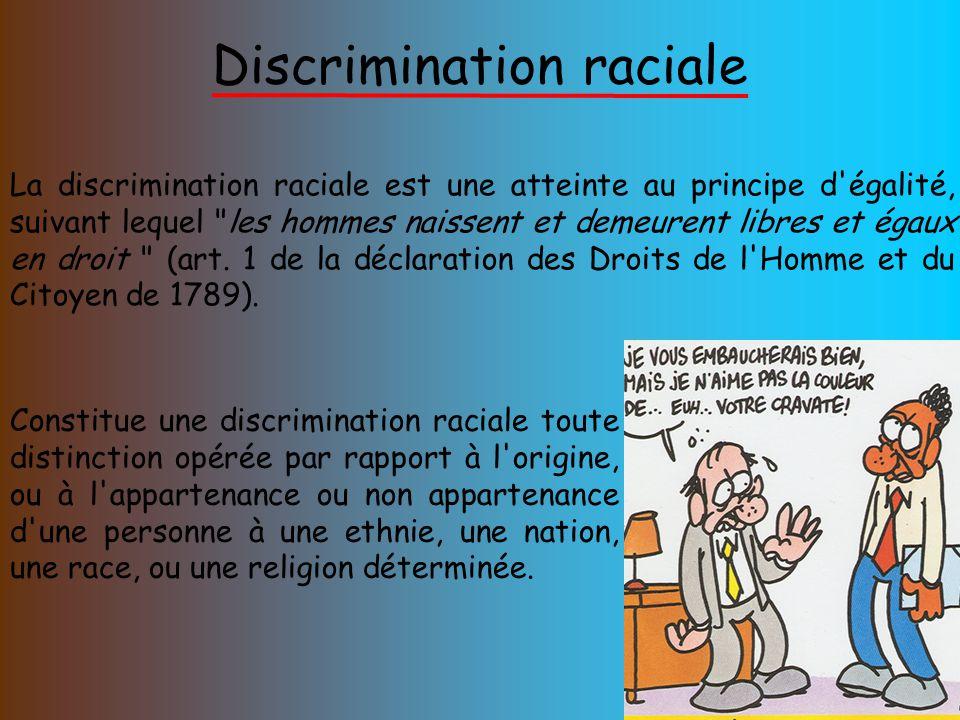 Assez Différentes discriminations : - ppt télécharger EY11